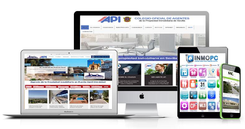 Diseño web inmobiliaria y Software Inmobiliario INMOPC