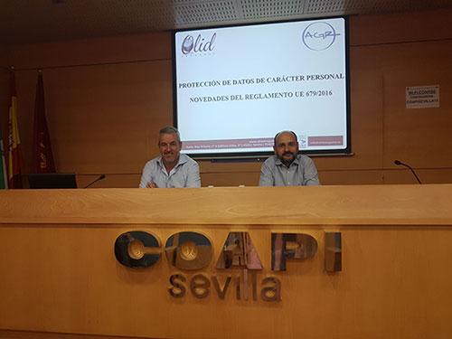 Curso Protección de Datos en Coapi Sevilla